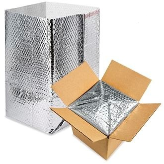 Foil Bubble Box Liner