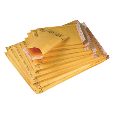 Self-Seal, Kraft Bubble Mailers